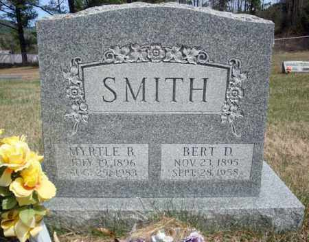 SMITH, BERT D - Warren County, New York | BERT D SMITH - New York Gravestone Photos