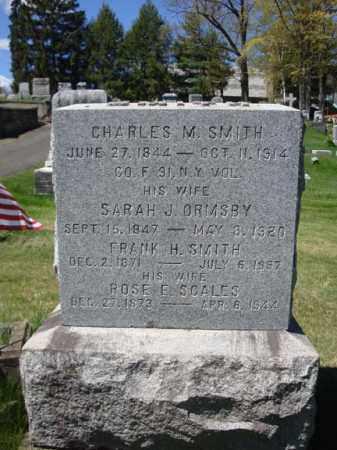 SMITH, SARAH J - Warren County, New York | SARAH J SMITH - New York Gravestone Photos