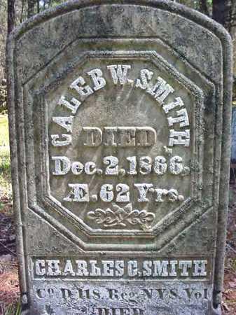 SMITH, CALEB W - Warren County, New York | CALEB W SMITH - New York Gravestone Photos