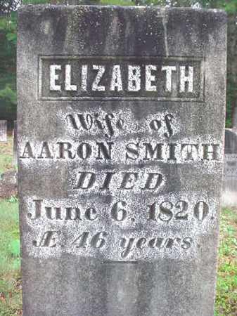 SMITH, ELIZABETH - Warren County, New York   ELIZABETH SMITH - New York Gravestone Photos