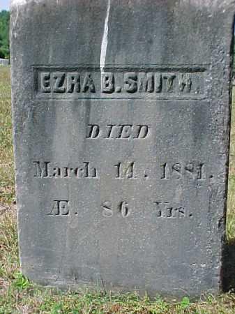 SMITH, EZRA B - Warren County, New York   EZRA B SMITH - New York Gravestone Photos