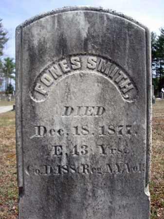 SMITH, FONES - Warren County, New York   FONES SMITH - New York Gravestone Photos