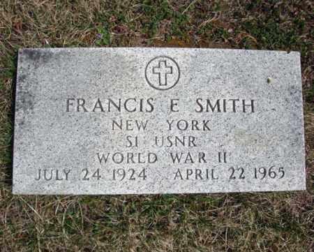 SMITH, FRANCIS E - Warren County, New York | FRANCIS E SMITH - New York Gravestone Photos