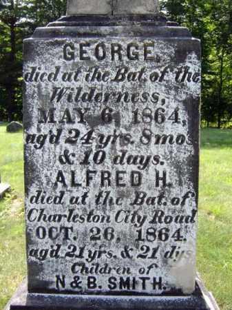 SMITH, GEORGE - Warren County, New York | GEORGE SMITH - New York Gravestone Photos