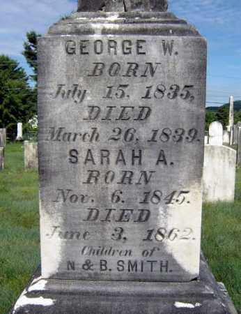 SMITH, GEORGE W - Warren County, New York | GEORGE W SMITH - New York Gravestone Photos