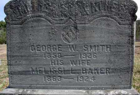 SMITH, GEORGE W - Warren County, New York | GEORGE W SMITH - New York Gravestone Photos