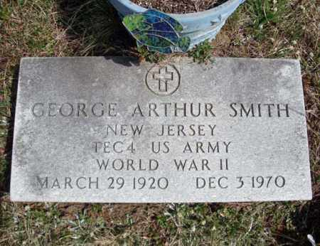 SMITH, GEORGE ARTHUR - Warren County, New York | GEORGE ARTHUR SMITH - New York Gravestone Photos
