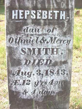 SMITH, HEPSEBETH - Warren County, New York | HEPSEBETH SMITH - New York Gravestone Photos