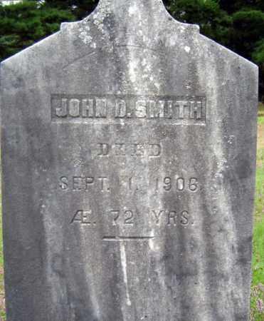 SMITH, JOHN D - Warren County, New York | JOHN D SMITH - New York Gravestone Photos