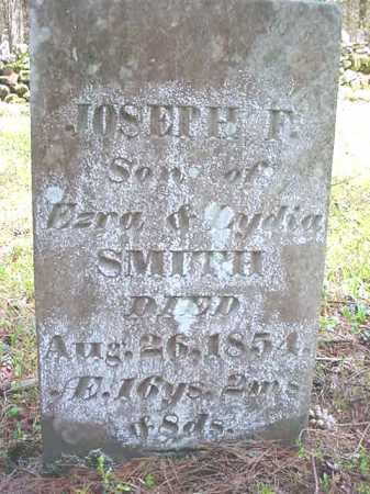 SMITH, JOSEPH F - Warren County, New York | JOSEPH F SMITH - New York Gravestone Photos