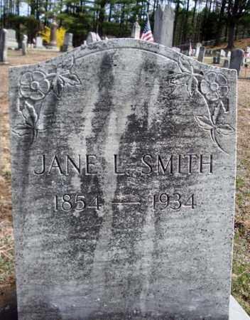 SMITH, JANE L - Warren County, New York | JANE L SMITH - New York Gravestone Photos