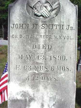SMITH (CW), JOHN HOLMES, JR - Warren County, New York | JOHN HOLMES, JR SMITH (CW) - New York Gravestone Photos