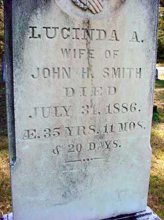 SMITH, LUCINDA A - Warren County, New York | LUCINDA A SMITH - New York Gravestone Photos