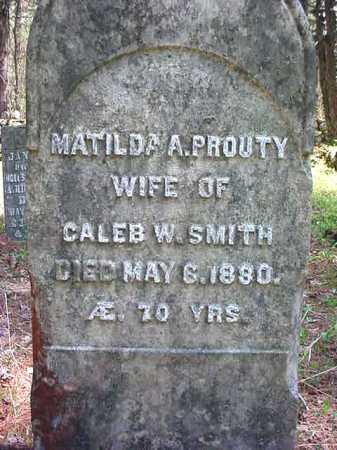 SMITH, MATILDA A - Warren County, New York | MATILDA A SMITH - New York Gravestone Photos