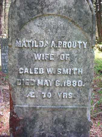 PROUTY SMITH, MATILDA A - Warren County, New York | MATILDA A PROUTY SMITH - New York Gravestone Photos