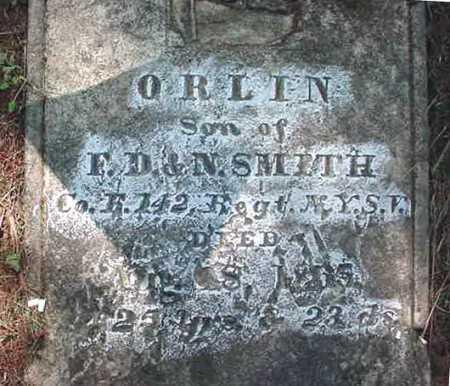 SMITH, ORLIN - Warren County, New York | ORLIN SMITH - New York Gravestone Photos
