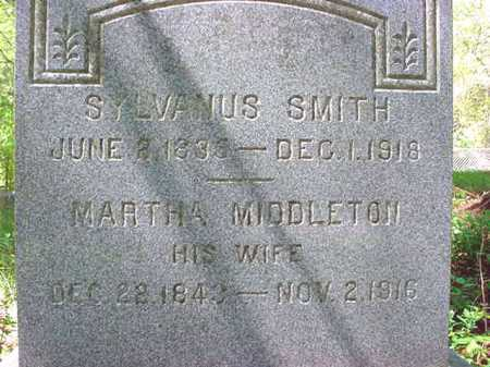 SMITH, SYLVANUS - Warren County, New York | SYLVANUS SMITH - New York Gravestone Photos