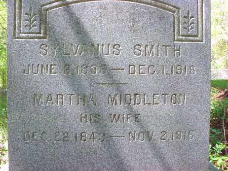 SMITH, MARTHA - Warren County, New York | MARTHA SMITH - New York Gravestone Photos