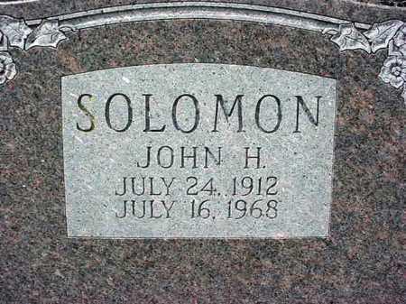 SOLOMON, JOHN H - Warren County, New York | JOHN H SOLOMON - New York Gravestone Photos
