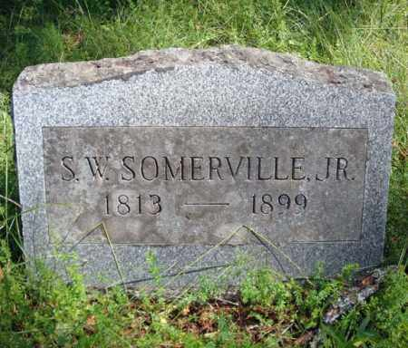 SOMERVILLE, S W - Warren County, New York | S W SOMERVILLE - New York Gravestone Photos