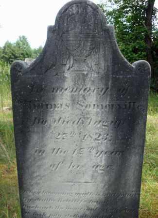 SOMERVILLE, THOMAS - Warren County, New York | THOMAS SOMERVILLE - New York Gravestone Photos