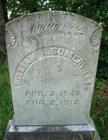 SOMERVILLE, WILLIAM A - Warren County, New York | WILLIAM A SOMERVILLE - New York Gravestone Photos