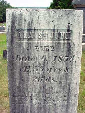 ST JOHN, IRA - Warren County, New York | IRA ST JOHN - New York Gravestone Photos
