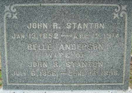 STANTON, JOHN R - Warren County, New York | JOHN R STANTON - New York Gravestone Photos