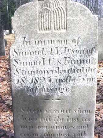 STANTON, SAMUEL A V - Warren County, New York | SAMUEL A V STANTON - New York Gravestone Photos