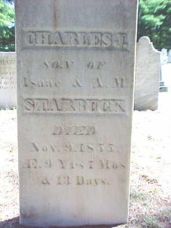 STARBUCK, CHARLES J - Warren County, New York | CHARLES J STARBUCK - New York Gravestone Photos
