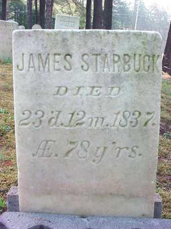 STARBUCK, JAMES - Warren County, New York   JAMES STARBUCK - New York Gravestone Photos
