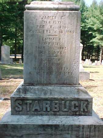 STARBUCK, JAMES E - Warren County, New York | JAMES E STARBUCK - New York Gravestone Photos