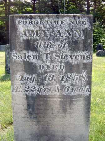 STEVENS, AMY ANN - Warren County, New York | AMY ANN STEVENS - New York Gravestone Photos