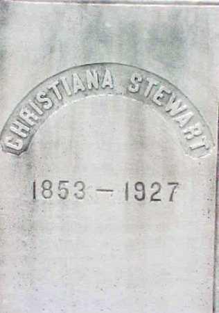 STEWART, CHRISTIANA - Warren County, New York | CHRISTIANA STEWART - New York Gravestone Photos