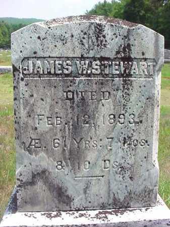 STEWART, JAMES W - Warren County, New York | JAMES W STEWART - New York Gravestone Photos