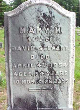 STEWART, MARY M - Warren County, New York | MARY M STEWART - New York Gravestone Photos