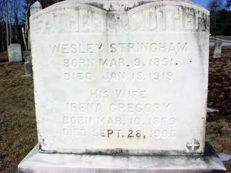 GREGORY, IRENA - Warren County, New York   IRENA GREGORY - New York Gravestone Photos