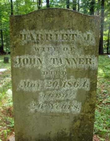 TANNER, HARRIET J - Warren County, New York | HARRIET J TANNER - New York Gravestone Photos