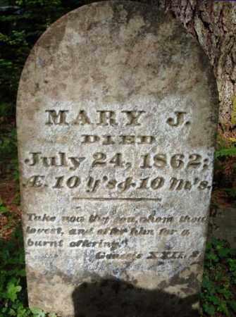 TANNER, MARY J - Warren County, New York | MARY J TANNER - New York Gravestone Photos