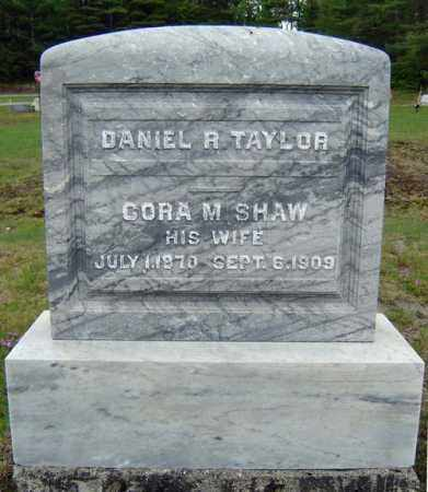 TAYLOR, CORA M - Warren County, New York | CORA M TAYLOR - New York Gravestone Photos