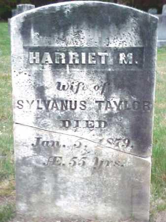 TAYLOR, HARRIET M - Warren County, New York | HARRIET M TAYLOR - New York Gravestone Photos