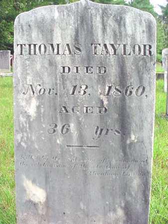 TAYLOR, THOMAS - Warren County, New York | THOMAS TAYLOR - New York Gravestone Photos