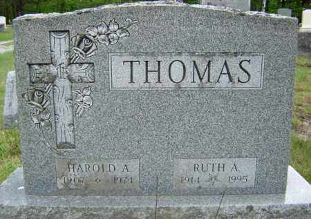 THOMAS, HAROLD A - Warren County, New York   HAROLD A THOMAS - New York Gravestone Photos