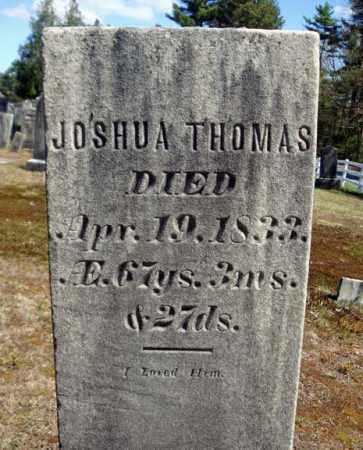 THOMAS, JOSHUA - Warren County, New York | JOSHUA THOMAS - New York Gravestone Photos