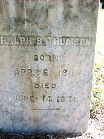 THOMSON, RALPH B - Warren County, New York   RALPH B THOMSON - New York Gravestone Photos
