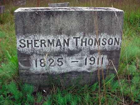 THOMSON, SHERMAN - Warren County, New York   SHERMAN THOMSON - New York Gravestone Photos