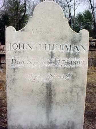 THURMAN, JOHN - Warren County, New York | JOHN THURMAN - New York Gravestone Photos