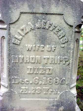 TRIPP, ELIZA - Warren County, New York | ELIZA TRIPP - New York Gravestone Photos