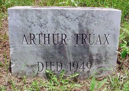 TRUAX, ARTHUR - Warren County, New York   ARTHUR TRUAX - New York Gravestone Photos
