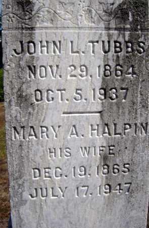 TUBBS, MARY A - Warren County, New York   MARY A TUBBS - New York Gravestone Photos